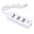 USB 2.0 Hub 4 ports High Speed Portable Splitter for Notebook Macbook Air Laptop PC Tablet Cable
