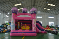 Princess Inflatable Bouncy Bouncer Castle Combo For Kids