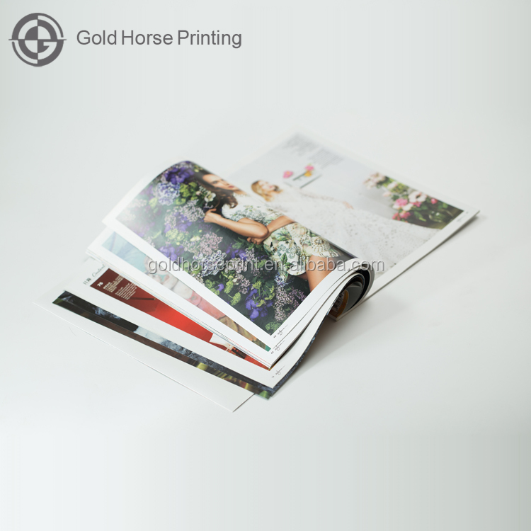 High Quality Offset Printing Magazines/Brochure/Booklet/Notebook Printings in Guangzhou