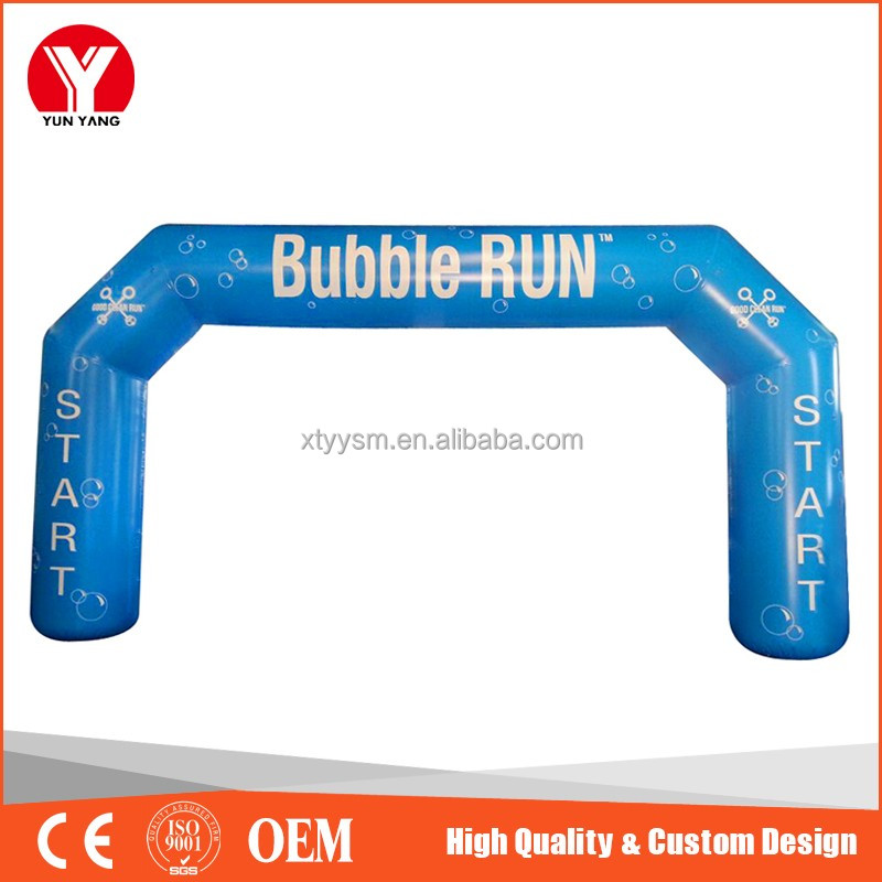 2016 High quality advertising inflatable arch, inflatable entrance arch