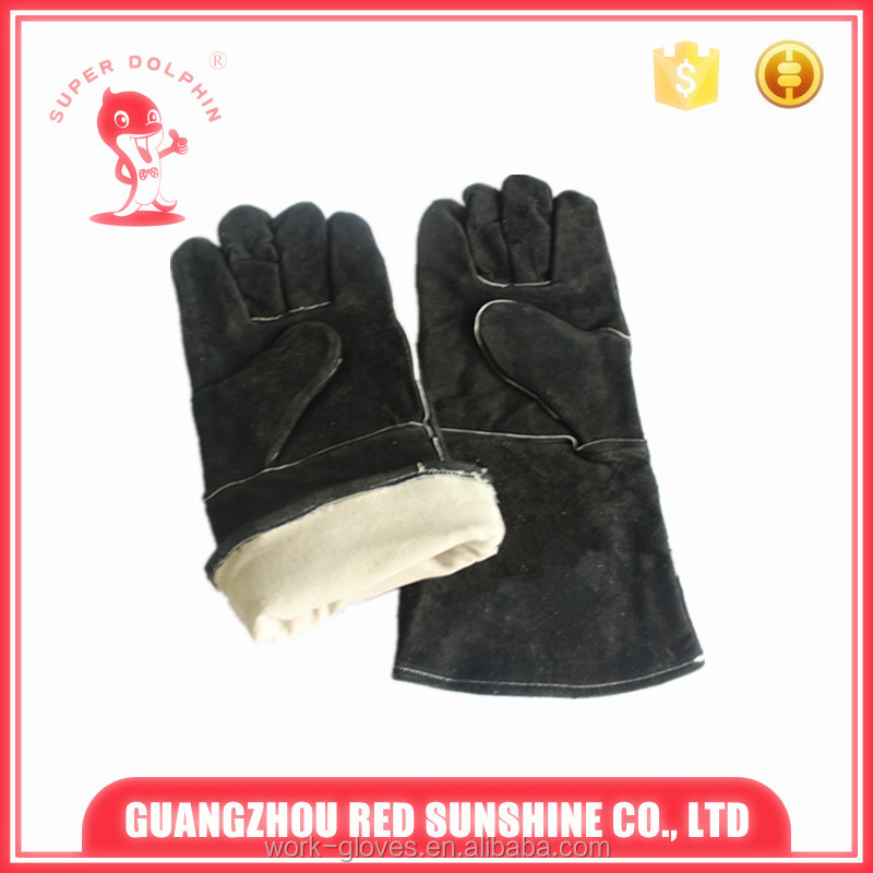 High quality cheap welding gloves safety protection gloves
