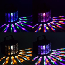 LED Beam Spot mini disco light metal stage Effects Lights