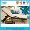 Outdoor Luxury Pool Furniture Used Folding Aluminium Sun Lounger