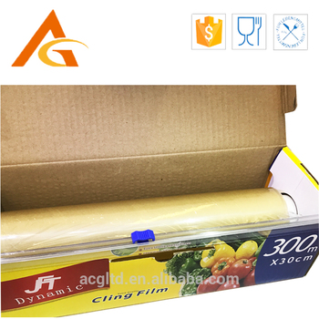 PVC cling film for food wrap Packing