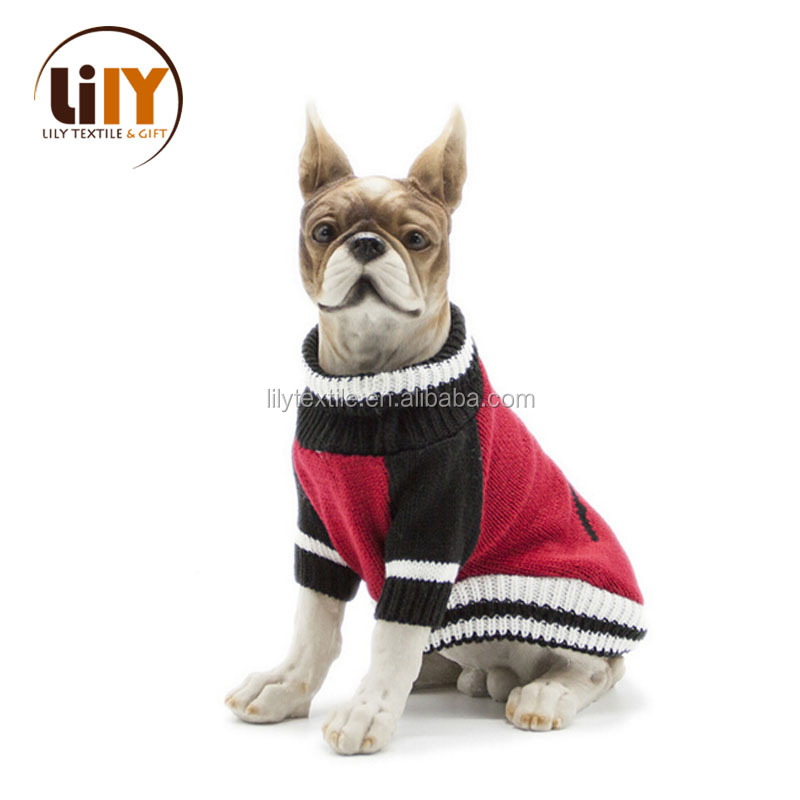 fashion winter pet dog sweater for wholesale
