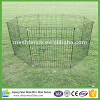 Havy duty exercise pet dog metal square playpen.