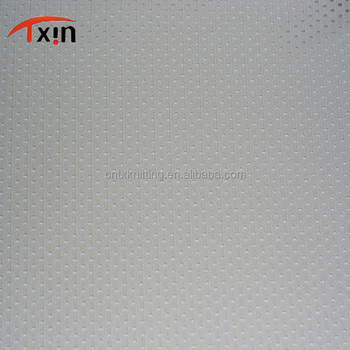 C007 bullet net shaped fabric hot sale polyester mesh fabric for sportswear and garment