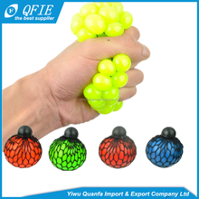 Hot selling in Russia and Japan TPR magic squeeze grape ball toys