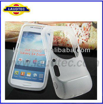 Laudtec High Quality Galaxy S4 Zoom TPU Case Matte Pudding Soft TPU Gel Case For Samsung Galaxy S4 Zoom