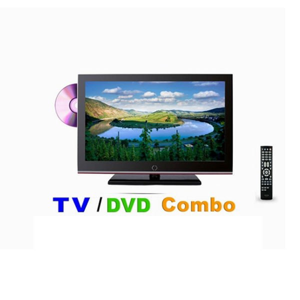 Extrordinary experience 32 inch lcd tv with dvd combo USB/HDMI PAL/NTSC/DVB-T