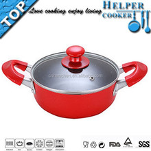 design new product aluminum casseroles hot pot with ears
