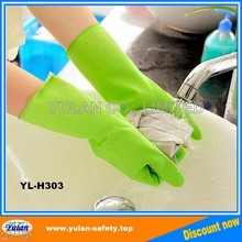 long cuff household latex/rubber gloves cleaning, Free Samples