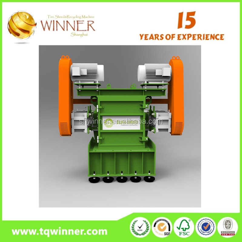 small industrial used metal shredder for sale