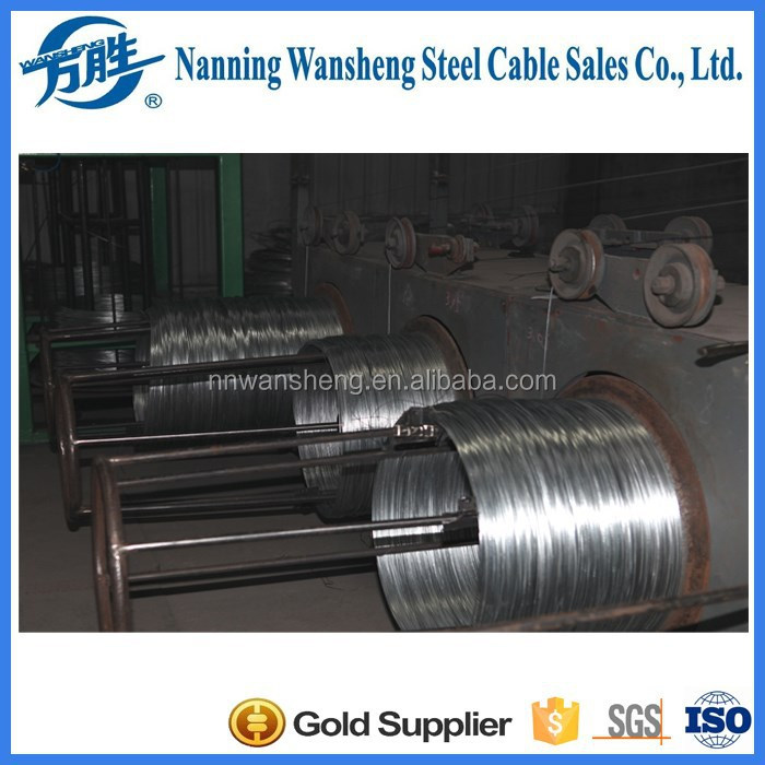 hot dip galvanized steel cable for messenger