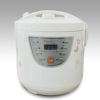 2015 white outer shell multi electric rice cooker