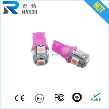 15months Warranty and less than 1% defective rate No Error T10 High Power COB 10W t10 5smd canbus car led auto bulb