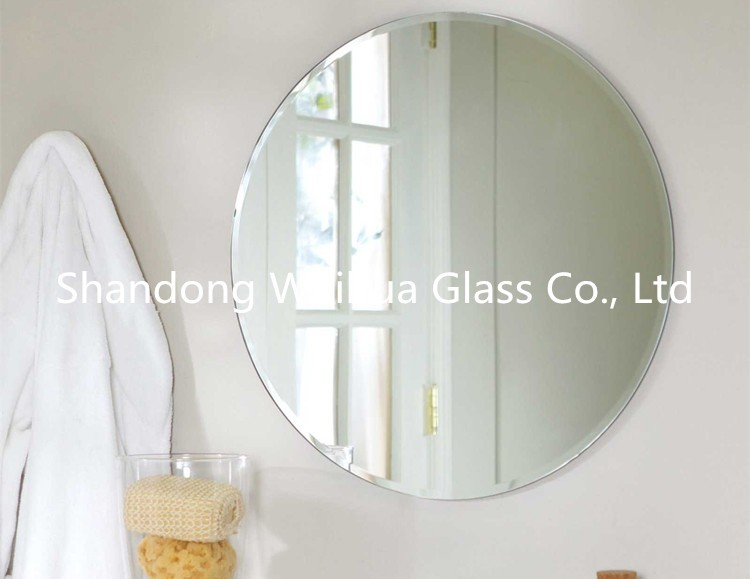 1.8mm -8mm Top Quality wall bathroom Mirror with Double Coated