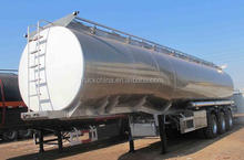 45000L Carbon Steel Oil/Chemical tank truck trailer 3 axles 12 tires for sale