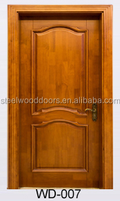 Wood Office Composite Main Door Designs Double Door