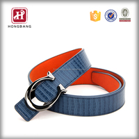 Hottest new style strap male genuine leather belt factory china