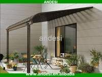 waterproof aluminum pergola balcony patio cover canopy