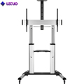 TV Cart TV Trolley TV Stand With Wheels For Lcd Led Oled Plasma Flat Panel Screens