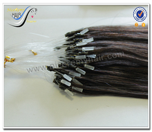 High quality wholesale micro ring hair extensions for blacks 100% virgin human hair