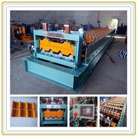 Supply used metal roof panel/sheet roll forming machine with low price/roof panel roll forming manufacturing machines