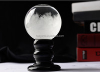 Wholesale New Design and High Quality Decorative Gifts of Crystal Ball Glass Storm