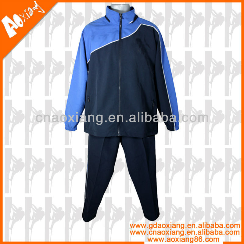 New China women microfiber plain tracksuits