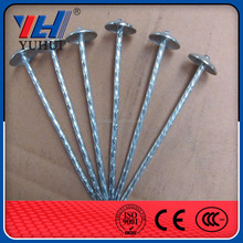 china factory supply high quality galvanized umbrella head roofing nails