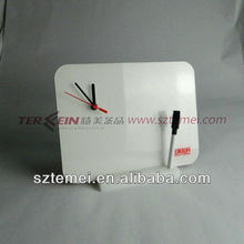 impressed acrylic desk clock for office