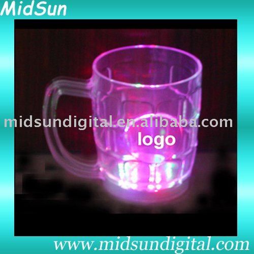 flashing led ice cube many design