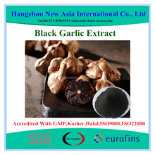 100% Water Soluble Black Garlic Extract With Kosher Halal ISO22000 Certificate