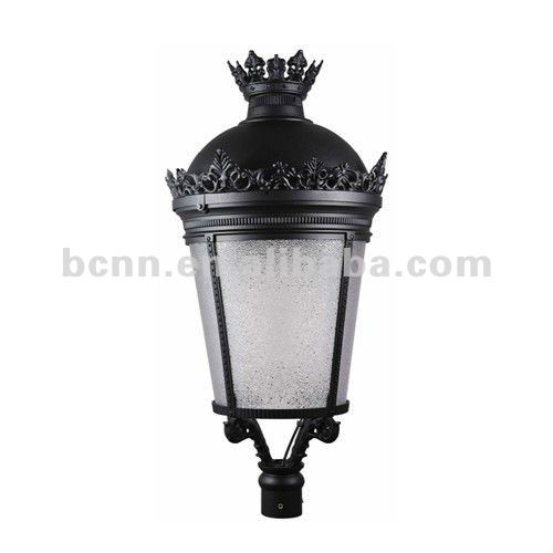 G-6125 150w antique street light pole, ip65 garden lantern