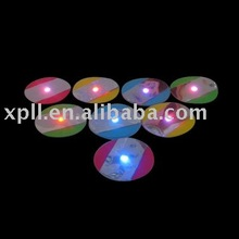 2.5mm Thickness LED Slim Light Up Pad with Sticker for Bottle or others Favor Items