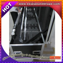 ESI Top quality pipe & drape road case, pipe and drape,used pipe and drape for sale