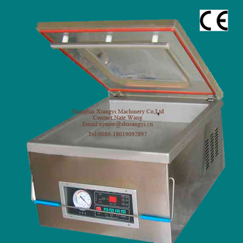 Shanghai factory price table-top vacuum packing machine