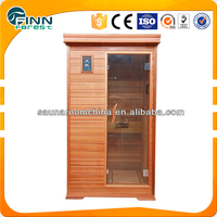 electric infrared sauna room for 1 person commerical or home use