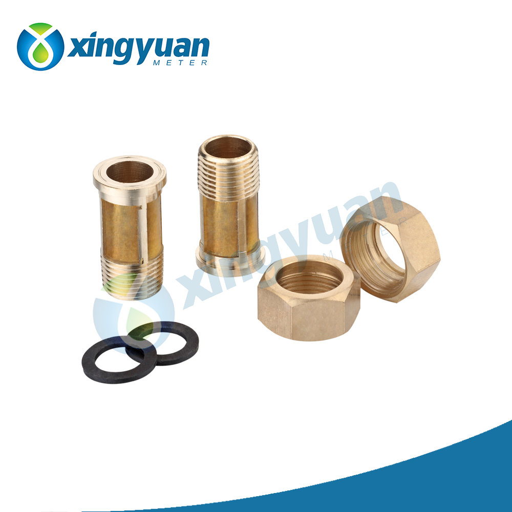 ferrule compression brass fitting for water meter