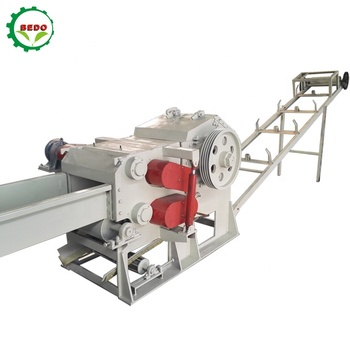 Factory Price Industrial Palm Wood Chipping Machine For Wood