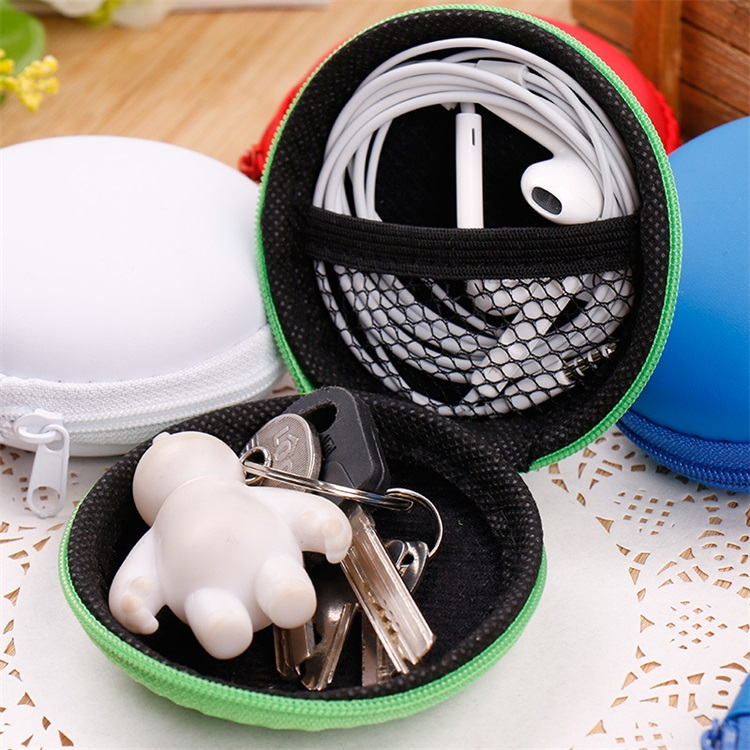 Candy Color Waterproof Non Slip Compression High Capacity Data Line Bluetooth Headset Sundries Packing Storage Box