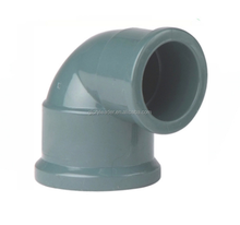 DIN Standard PVC Pipe Fittings Grey PN16 For Water Supply(cold water)