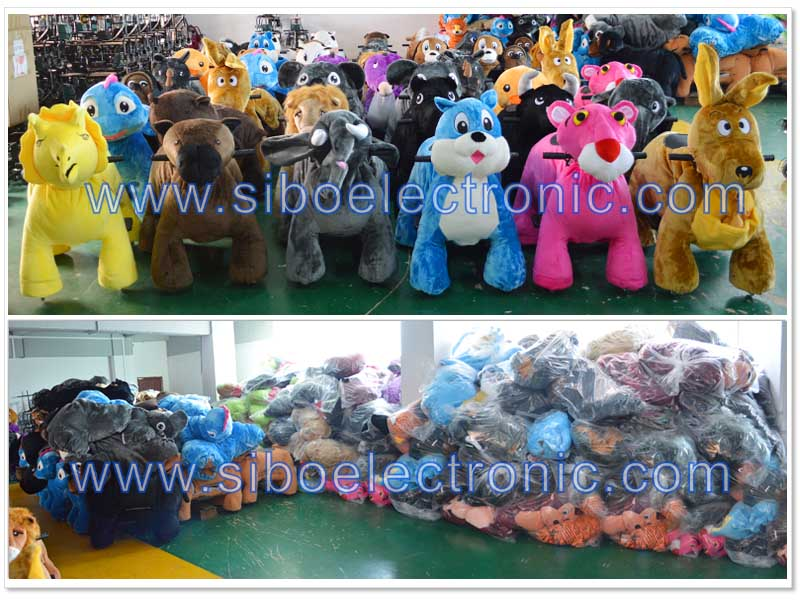 GM5916 Shopping amusement park rides for rent mechanical animal ride for kids
