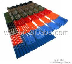 Manufacturer quote Competitive price !Durablbe Color coated corrugated roof steel/stainless roof plate/roof tile