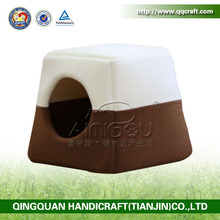 2014 China Hot Sale High Quality PVC Coated Bamboo Dog Cage With Waterproof Roof