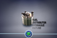 professionally customize Fuel Distributor-02 Hydraulic clamping fixtures