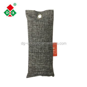 Moso bamboo charcoal bag and air purifiers activated carbon powder for large areas