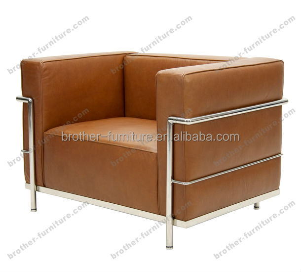 LC3 grand confort armchair furniture replica sofa Le Corbusier sofas