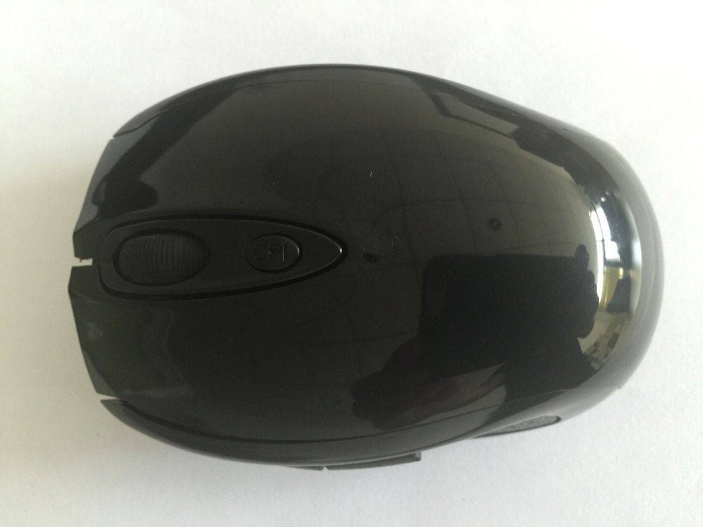 Special Offer Black 2.4G RF Optical Wireless USB Mouse for macbook Laptop